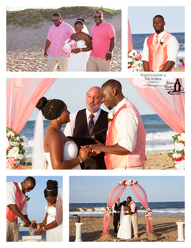 Kayla And Eric Traveled In From Lynchburg Va For Their Beach Wedding At Little Island Park
